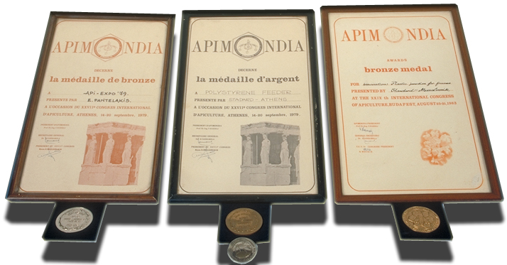 Apimondia Awards for ANEL