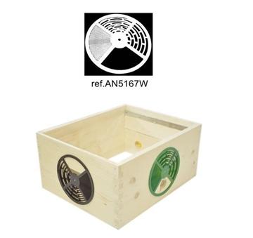 Δίσκος Εισόδου Ρυθμιζόμενος άσπρος ANEL