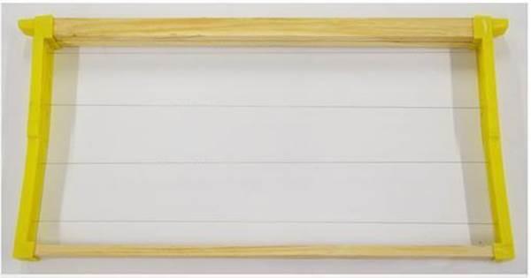 Πλαίσιο με Ορθοστάτες Πλαστικούς ANEL Συρματωμένο 9 1/8'' PS Lng Hoffman