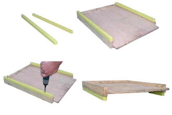 Πόδια για Ξύλινους Πάτους Πλαστικά ANEL ( set 2 τεμ, )