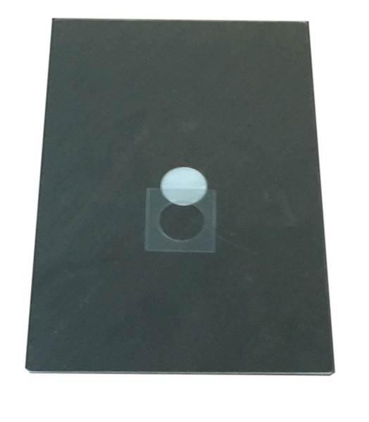 Κάλυμμα κυψέλης PVC με καλύπτρα Nuc 124x186 mm
