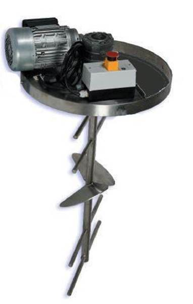 Αναδευτήρας Μελιού Φορητός για Δοχείο 300 lt