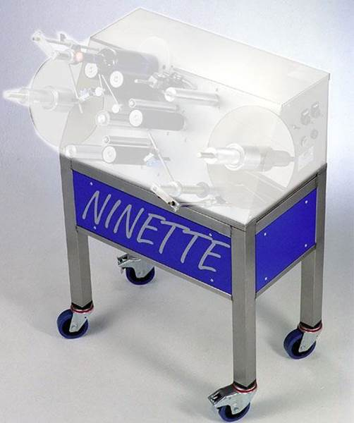 Ετικετέζας Ninette IΙ και Ninette A Plat  Βάση με Ρόδες