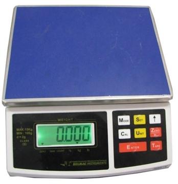 Ζυγαριά 30 κιλά υποδιαίρεση 5gr  22Χ27 με Μπαταρία