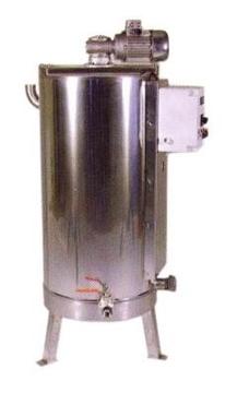 Δεξαμενή Μελιού Θερμαινόμενη Κωνικού Πάτου με Αναδευτήρα 950 lt (1300 Kg )