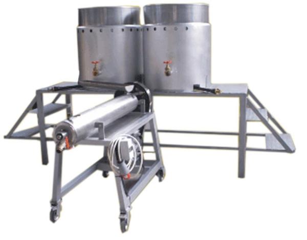 Βανιλιέρα Μηχανή παραγωγής CANDIO 100 και 2 Βραστήρας