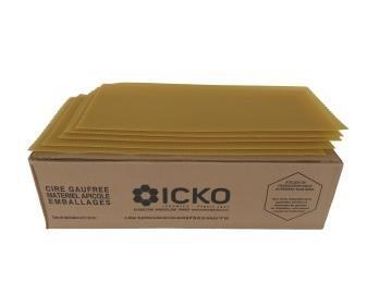 Κηρήθρες Πρεσαριστές ICKO χ/ο 5 kg (~64-65 φύλλα) τιμή φύλλου