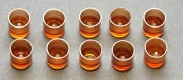 Σύστημα Βασιλοτροφίας Γαλλίας - Τεχνητά Κελιά Καφέ Διαφανή (100 τεμ)