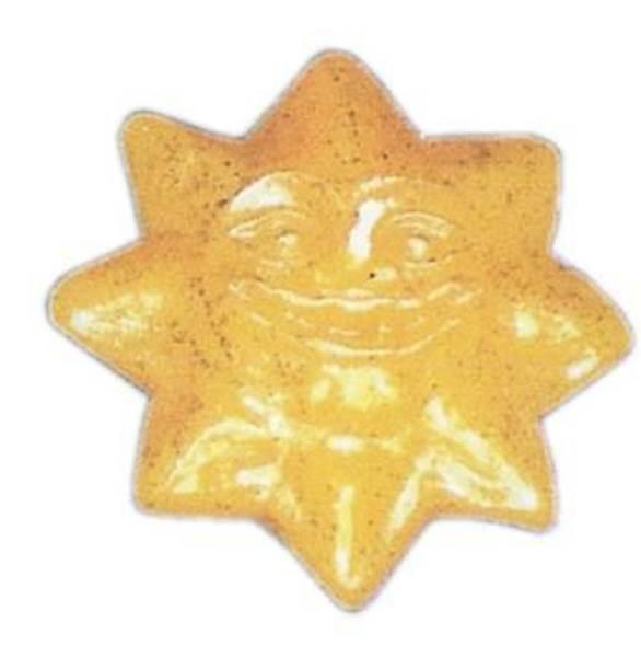 Καλούπι λαμπάδα Ήλιος