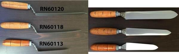 Μαχαίρι Απολεπισμού Απλό Ελαστικό 18cm