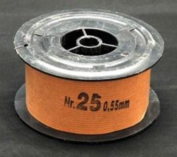 Σύρμα Μελισσοκομίας Σκληρό Νο 25  φ0,55 mm ρολο 1 Kg