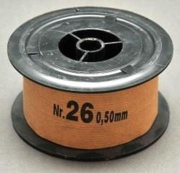 Σύρμα Μελισσοκομίας Σκληρό Νο 26 φ 0,50    mm ρολο 1 Kg