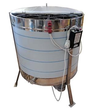 Μελιτοεξαγωγέας Ηλεκτρικός Pro 6πλαισίων Αναστρεφόμενος Αυτόματος 4 Προγραμμάτων FULL INOX