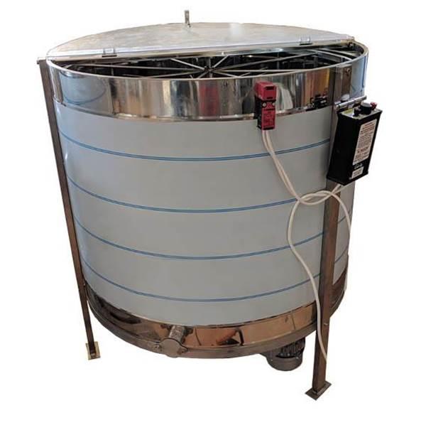 Μελιτοεξαγωγέας Ηλεκτρικός Pro 8 πλαισίων Αναστρεφόμενος Αυτόματος 4 Προγραμμάτων FULL INOX