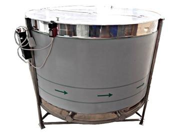 Μελιτοεξαγωγέας Ηλεκτρικος Pro 16 πλαισίων Αναστρεφόμενος Αυτόματος 4 Προγραμμάτων FULL INOX