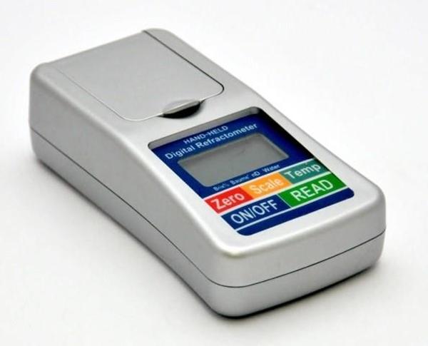 Υγρασιόμετρο Διαθλασήμετρο Ηλεκτρονικό