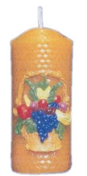 Καλούπι κερί κηρήθρα με καλάθι φρούτων