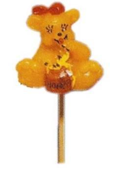 Καλούπι αρκούδα με μέλι σε ξύλο