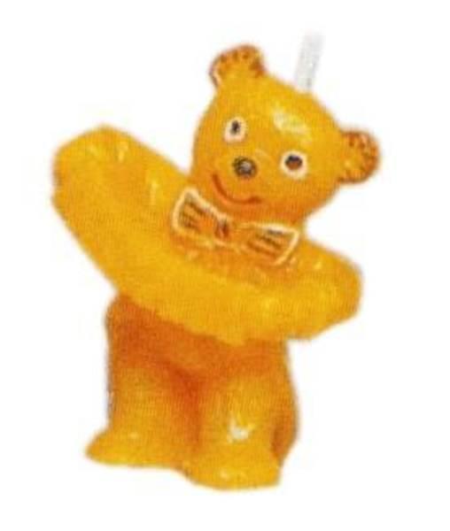 Καλούπι αρκούδα με ακορντεον