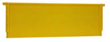 Εικόνα της Πλαίσιο Κηρήθρα Πλαστική ANEL ABS Μελιτοθαλάμου (6 5/8'') Ακέρωτο Lng Hoffman