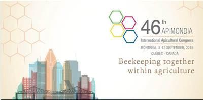 Invitation to the 46th Apimondia 2019 in Montre...