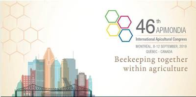 Invitation to the 46th Apimondia 2019 in Montreal, Canada (8-12 September) by ANEL Beekeeping Supplies