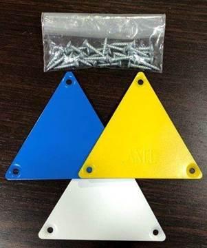 Bild von Orientierung Dreieck (SET mit 3 Stück)