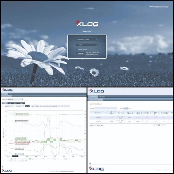 Ζυγαριάς Συλλογής Δεδομένων XLOG BEE GSM XLOG-NET Εφαρμογή WEB για 1 χρόνο