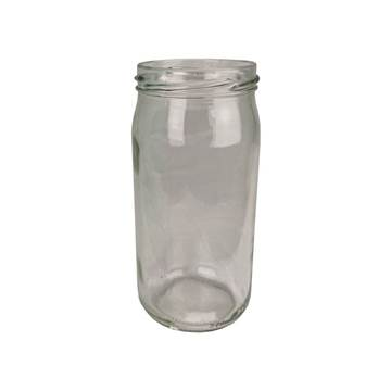 Βάζο Γυάλλινο Στρογγυλό 370ml χωρίς καπάκι