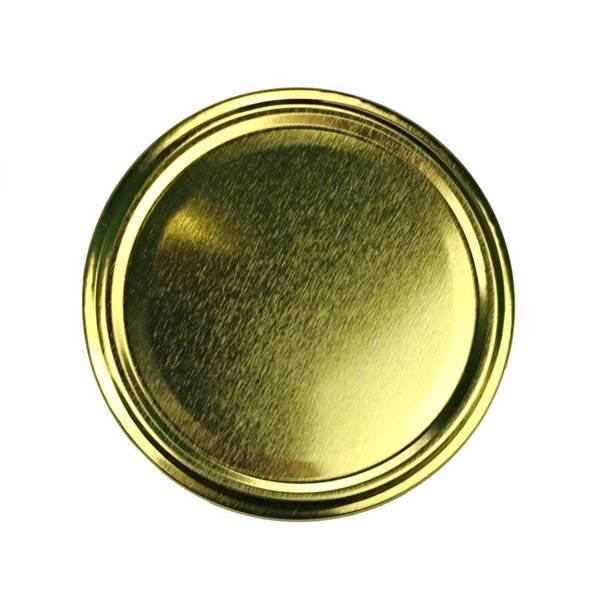 Καπάκια Γυάλινων Βάζων Χρυσά Twist Off φ82