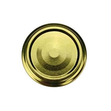 Καπάκια Γυάλινων Βάζων Χρυσά Twist Off Φ53
