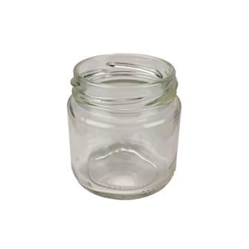 Βάζο Γυάλλινο Στρογγυλό 106 ml φ53 χωρίς καπάκι...