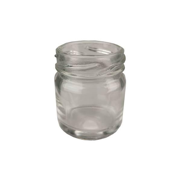 Βάζο Γυάλλινο Στρογγυλό 40 ml φ43 χωρίς καπάκι