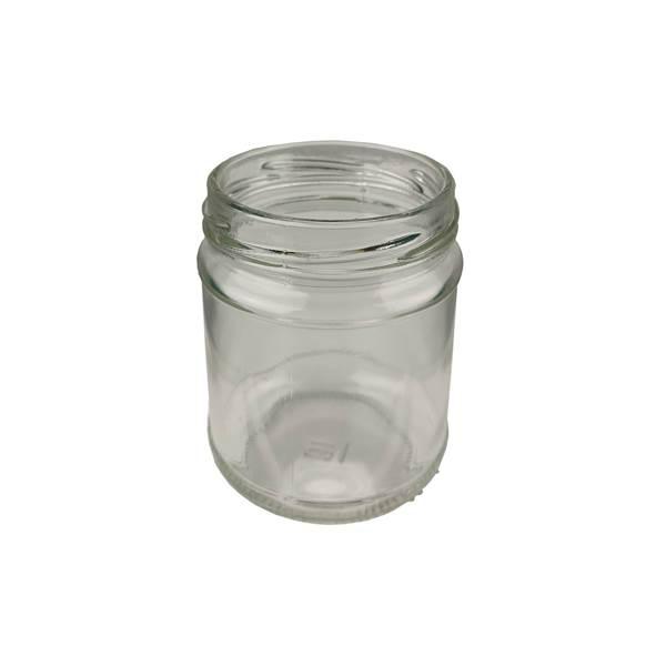Βάζο Γυάλλινο Στρογγυλό 212 ml φ63 χωρίς καπάκι