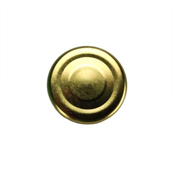 Καπάκια Γυάλινων Βάζων Χρυσά Twist Off φ43