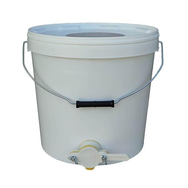 Δοχείο Μεταφοράς και Συσκευασίας Μελιού με Κάνουλα Πλαστικό 24Κγ