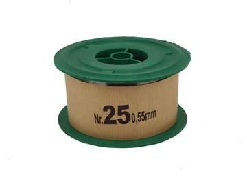Σύρμα Μελισσοκομίας Σκληρό Νο 25 φ0,55mm, Ρολό ...