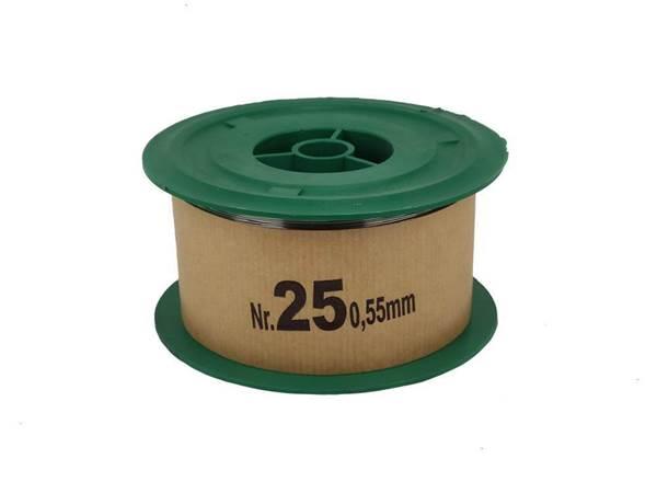 Σύρμα Μελισσοκομίας Σκληρό Νο 25 φ0,55mm, Ρολό 2 Kg