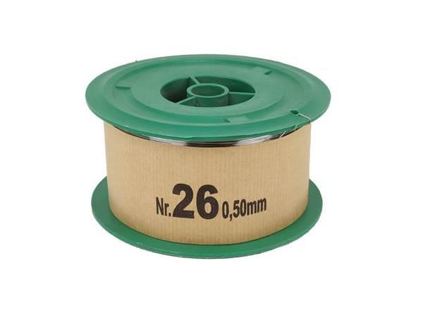 Σύρμα Μελισσοκομίας Σκληρό Νο 26 φ0,50mm, Ρολό 2 Kg