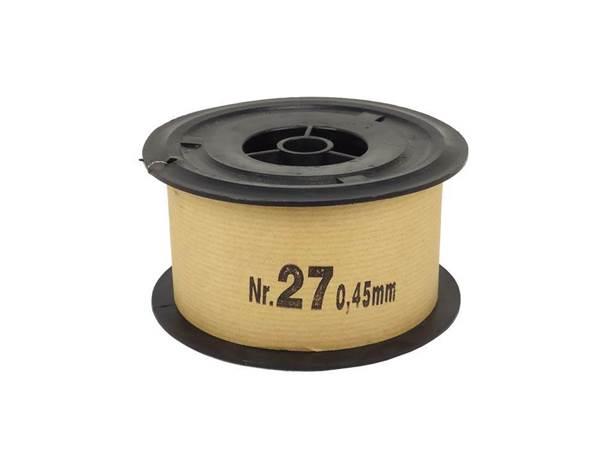 Σύρμα Μελισσοκομίας Σκληρό Νο 27 φ0,45mm, Ρολό 2 Kg