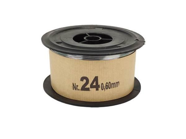 Σύρμα Μελισσοκομίας Σκληρό Νο 24 φ0,60mm, Ρολό 2 Kg
