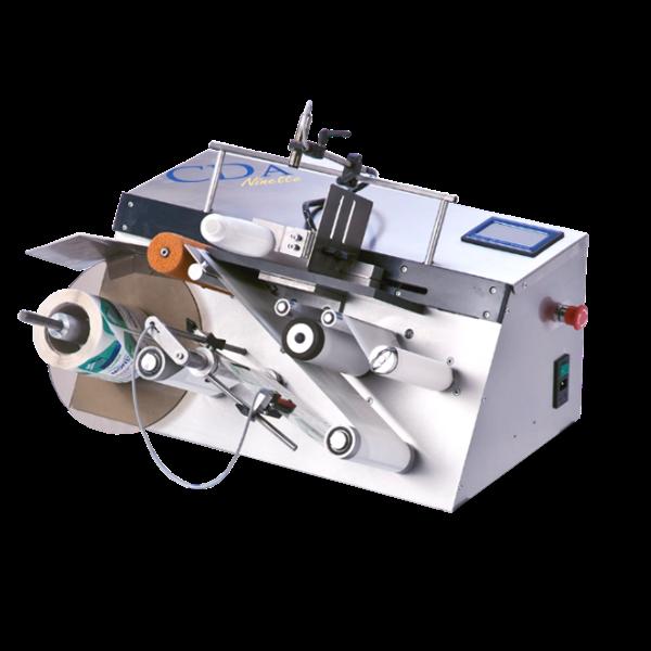 Bild von Etikettierungsmaschine halb automatisch Ninette A Plat 1 Etikettierungsstation nicht-runde Gläser