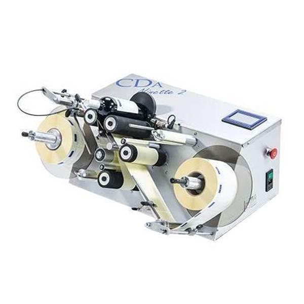 Bild von Etikettierungsmaschine halb automatisch Ninette II 2 Etikettierungsstation runde Gläser