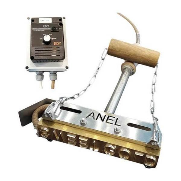Image sur Marqueur à feu Éléctrique ANEL - sur commande (12 caractères)