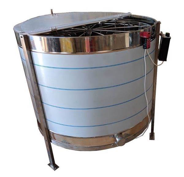 Μελιτοεξαγωγέας Ηλεκτρικος Pro 12 πλαισίων Αναστρεφόμενος Αυτόματος 4 Προγραμμάτων FULL INOX