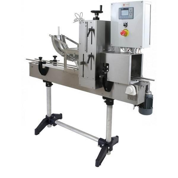 Picture of Taponadora de tapa mecánica eléctrica de la máquina taponadora