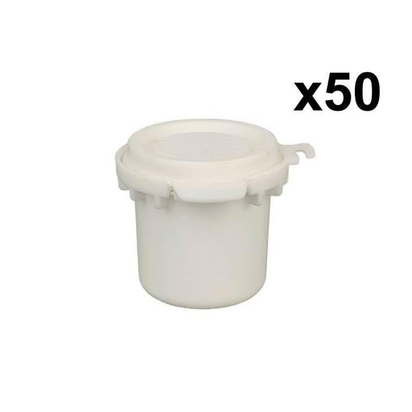 Βάζο Βασιλικού Πολτού Πλαστικό 10ml ANEL (πακ. 50τεμ)